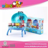 2015 Hot Sale Toy Big Kitchen Cook Set bbq tool kids bbq set toy