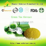 High quality green tea extract Caffeine 3% wholesale