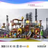 used outdoor school playground play center equipment for sale,outdoor Kindergarten amusement park slide playground