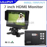 battery build-in 12V HDMI Monitor with 7 inch screen12V Battery Monitor