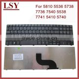 replacement laptop keyboard for acer 7735 7735Z 7735ZG 7736G 7535G 5538 5538G 5542 5542G 7741G 7741Z 7741ZG notebook keyboard