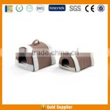 supply OEM stock pet kitty carriers soft fleece and memory foam