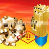 API matrix body and steel body pdc drill bit IADC 16