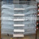 Galvanized material bird use quail cage for layer quails