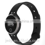 BTW-T5 Bluetooth Bracelet Bluetooth 4.0 Chip: Ti2541 Pedometer Sleep monitor Measure temperature Heart rate monitor