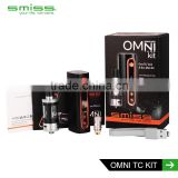 hot selling free samples Smiss OMNi TC kit electronic cigarette vape mods 50W vape starter kit