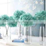 Colorful Artificial Flower Wall with Wholesale Silk Flower Hydrangea and rose for wedding