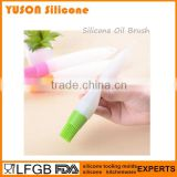 Hot Sale Silicone Squeeze Sauce Cooking Oil Painting Tube Brush