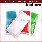 custom gel hot cold pack ce certification 28*14 rectangle non woven fabric pvc gel ice pack for body