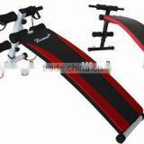 crossfit equipment incline adjustable home folding sit up weight bench/foldable sit up board