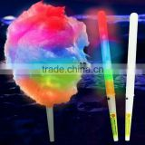 Made in china Cheap Led Gifts Light Plastic Candy Stick Party Flashing LED Cotton Candy Stick hot items led catton candy stick