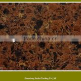 hi-quality India red artificial quartz stone slab                                                                         Quality Choice