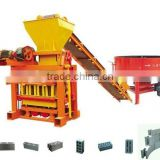 China Gold Supplier block machine wood pallet /wood sawdust block making machine QTJ4-40 simple brick making machine