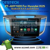 NEW HOT SELLING Car Audio Navigation system for Hyundai IX25 Android 4.4.4 up to 5.1 OBDII 1.6GHz MCU 3G WiFI                                                                         Quality Choice