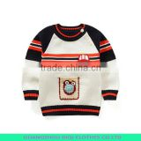 New Style Sport Boy Knitted Kids Pullover Sweater