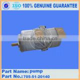 Japan brand loader spare parts WA320-1 WA300-1 hydraulic pump 705-51-20140 hydraulic pump ass'y
