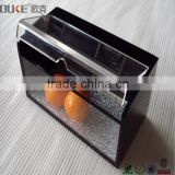 top quality small modern design acrylic candy box for sale