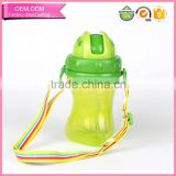 Best Silicone Straw Cup Water Drinking Bottle for Baby with Cap