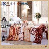 Manufactory alibaba china home textile custom warm flannel fleece blanket stocks 2ply or 1ply organic printing rubber blanket