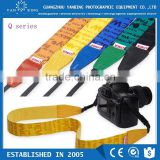 Hottest selling LYNCA Q series colorful personalized dslr camera strap with uppon leather material