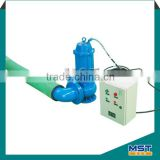 Centrifugal switch electric motor submersible pumps