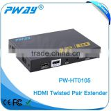 Pinwei PW-HT0105 1x4 HDMI Amplifier Splitter over CAT5e/CAT6 Complete Solution Kit