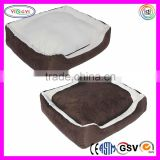 F027 Soft Plush Pet Cushion Crate Bed Removable Insert Pillow Dog Beds with Removable Cushion