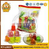 15G Fruity Flavor Mini Coconut Jelly Pudding Cup With Coconut