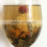 Chinese BLOOMING tea chrysanthemum Flower jasmine and Silver Needle Tea