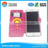 business card holder rfid blocking cell phone case