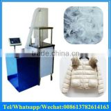 Automatic duck and goose feather down jacket filling machinery / feather pillow filling machine