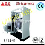 High stroke hydraulic presser/presser and estruder/stong dispersing machine for glue and paint