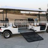 Electric handicapped car, with hydraulic ramp for wheelchair, EG2068T