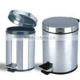 Stainless Steel Pedal Filp Waste Basket