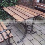garden wooden bench, outdoor table specific use outdoor bench UM-6520