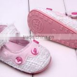brand new baby toddler shoes baby girls cute shoes with button soft and comfortable bottom shoes