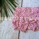 pink baby sports clothing style fitness shorts organic elastic girls clothes