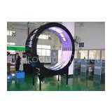 Round Circle PH10 Advanced Outdoor Irregular LED Display Advertising Billboard for Airport