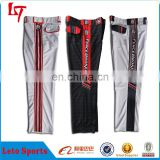 Custom Youth Men Wholesale/Plus Size Baseball Pants/Customized Softball Pants Fully Dye Sublimated Baseball Pants