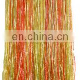 Hawaiian Grass Skirt With Flowers 38cm(w) 80cm(l) Adult