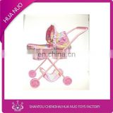 2014 new toys baby doll stroller with car seat