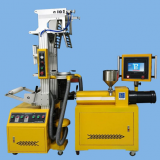 2018high technic  reliable quality  lab plastic film blowing machine with PLC control