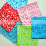 100% cotton ladies printed Handkerchief