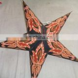 new models of GLITTER PRINTED PAPER STAR LAMPS