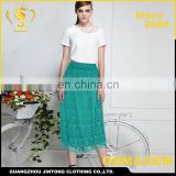 Wholesale summer hot selling women lace long skirts Image