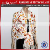 brooches and hijab pins JDY-023# Printing scarf acrylic scarf digital printed scarf