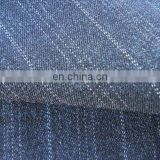 Stripe twill T/R/SP stretch fabric Plain Dyed spandex suiting for Ladies wear