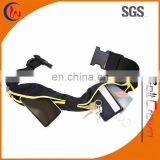 Double Zipper Sport Waist Waterproof Elastic Pouch Bag for Running