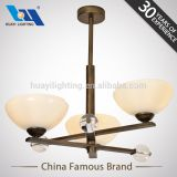 Huayi Factory Wholesale Wood Zhongshan Wooden Bamboo Pinecone Pendant Lights