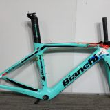 T1000 bianchi xr4 frame carbon road bike frame all internal Derailleur DI2 Cables Carbon Road Frame